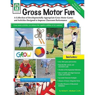 eBook: Key Education 804054-EB Gross Motor Fun, Grade PK - 2