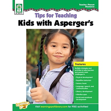 eBook: Key Education 804111-EB Tips for Teaching Kids with Asperger's, Grade PK - 5