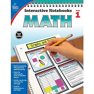 eBook: Carson-Dellosa 104646-EB Math, Grade 1