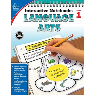 eBook: Carson-Dellosa 104652-EB Language Arts, Grade 1