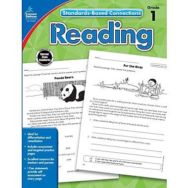 Livre numérique : Carson-Dellosa� -- Reading 104658-EB, 1re année