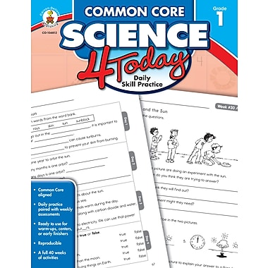 eBook: Carson-Dellosa 104812-EB Common Core Science 4 Today, Grade 1