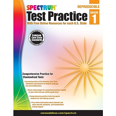eBook: Spectrum 704247-EB Spectrum Test Practice, Grade 1