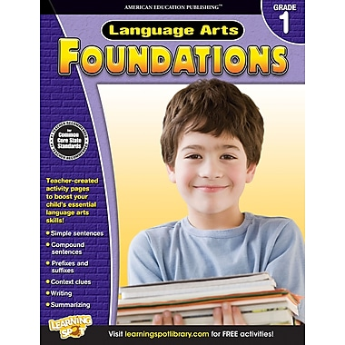eBook: American Education Publishing 704272-EB Language Arts Foundations, Grade 1