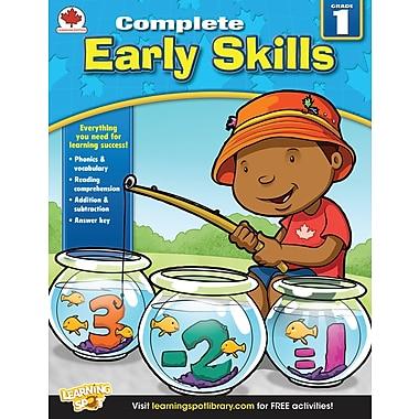 eBook: Carson-Dellosa 704285-EB Early Skills, Grade 1
