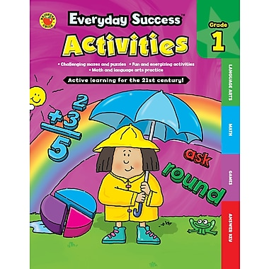 Livre numérique : Brighter Child� -- Everyday SuccessMC Activities First Grade 704381-EB, 1re année