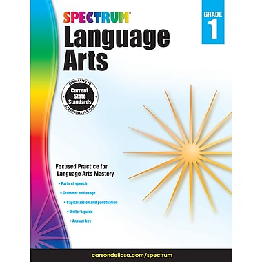 eBook: Spectrum 704588-EB Spectrum Language Arts, Grade 1