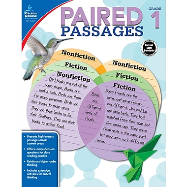 e-Book: Carson-Dellosa 104886-EB Paired Passages, Grade 1