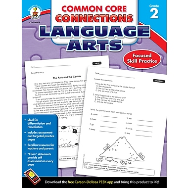 eBook: Carson-Dellosa 104609-EB Common Core Connections Language Arts, Grade 2