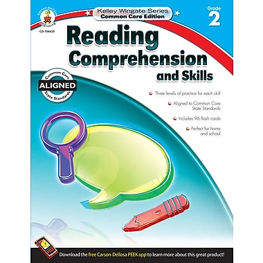 Livre numérique : Carson-Dellosa� -- Reading Comprehension and Skills 104620-EB, 2e année