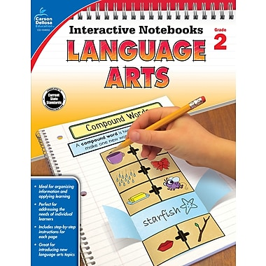 eBook: Carson-Dellosa 104653-EB Language Arts, Grade 2
