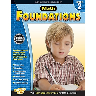 eBook: American Education Publishing 704277-EB Math Foundations, Grade 2