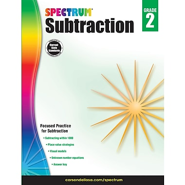 Carson-Dellosa 704979-EB Subtraction, 2e année