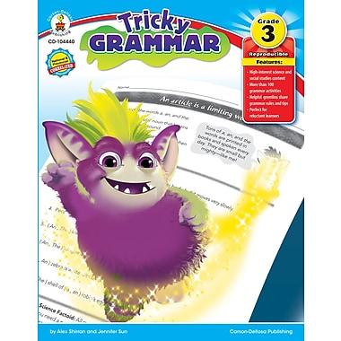 Livre numérique : Carson-Dellosa� -- Tricky Grammar 104440-EB, 3e année