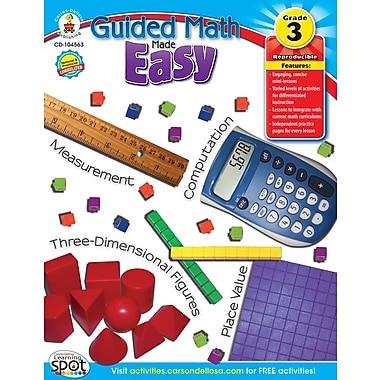 Livre numérique : Carson-Dellosa� -- Guided Math Made Easy 104563-EB, 3e année