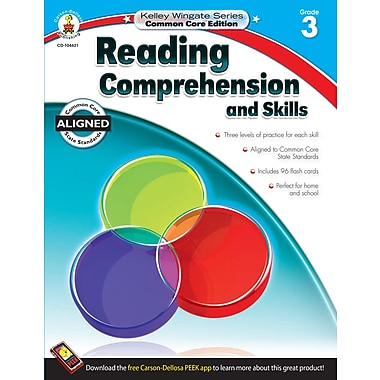 Livre numérique : Carson-Dellosa� -- Reading Comprehension and Skills 104621-EB, 3e année
