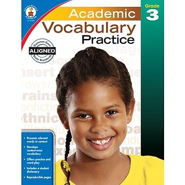 eBook: Carson-Dellosa 104808-EB Academic Vocabulary Practice, Grade 3