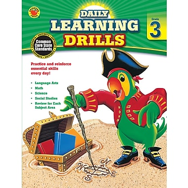 eBook: Brighter Child 704394-EB Daily Learning Drills, Grade 3