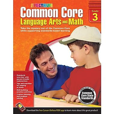 Livre numérique : Spectrum 704503-EB Common Core Language Arts and Math, 3e année