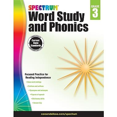 eBook: Spectrum 704606-EB Spectrum Word Study and Phonics, Grade 3