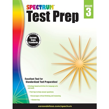 eBook: Spectrum 704683-EB Spectrum Test Prep, Grade 3