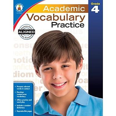 Livre numérique : Carson-Dellosa� -- Academic Vocabulary Practice 104809-EB, 4e année