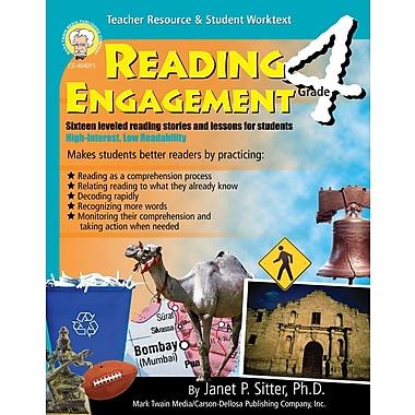 Livre numérique : Mark Twain 404015-EB Reading Engagement, 4e année