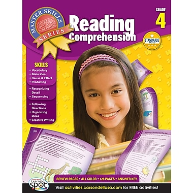 eBook: American Education Publishing 704096-EB Reading Comprehension, Grade 4
