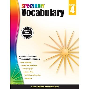 Livre numérique : Spectrum 704611-EB Spectrum Vocabulary, 4e année