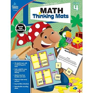 e-Book: Carson-Dellosa 104902-EB Math Thinking Mats, Grade 4