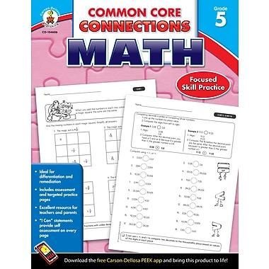 Livre numérique : Carson-Dellosa� -- Common Core Connections Math 104606-EB, 5e année