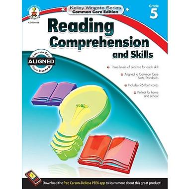 Livre numérique : Carson-Dellosa� -- Reading Comprehension and Skills 104623-EB, 5e année