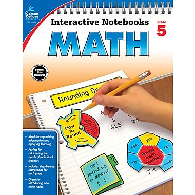 eBook: Carson-Dellosa 104650-EB Math, Grade 5