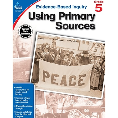 eBook: Carson-Dellosa 104863-EB Using Primary Sources, Grade 5