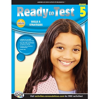 eBook: American Education Publishing 704126-EB Ready to Test, Grade 5