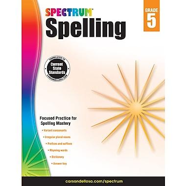 eBook: Spectrum 704601-EB Spectrum Spelling, Grade 5