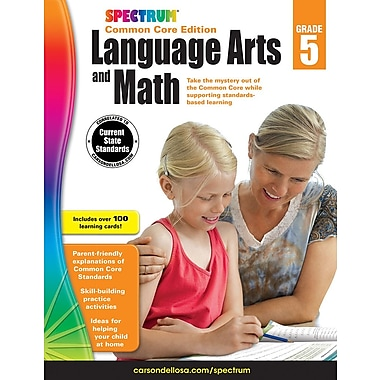 eBook: Spectrum 704694-EB Spectrum Language Arts and Math, Grade 5
