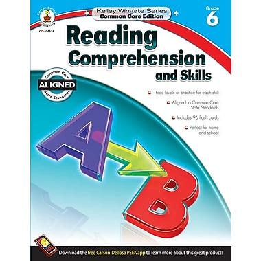 Livre numérique : Carson-Dellosa� -- Reading Comprehension and Skills 104624-EB, 6e année