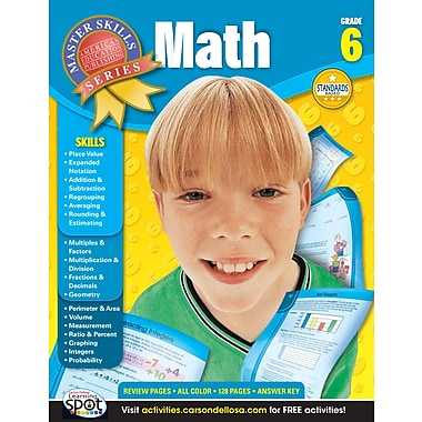 eBook: American Education Publishing 704083-EB Math, Grade 6