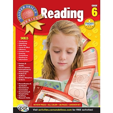 eBook: American Education Publishing 704091-EB Reading, Grade 6