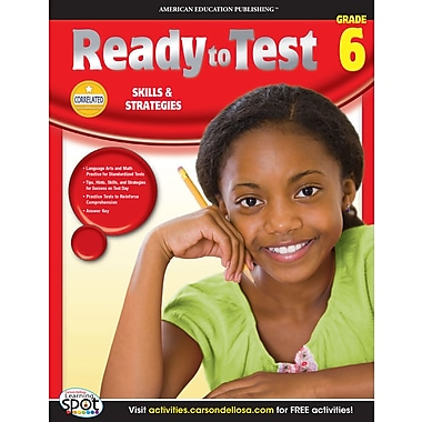 eBook: American Education Publishing 704127-EB Ready to Test, Grade 6
