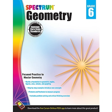 eBook: Spectrum 704514-EB Geometry, Grade 6