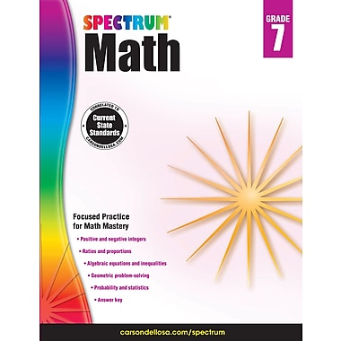 eBook: Spectrum 704567-EB Spectrum Math, Grade 7