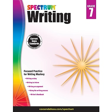 eBook: Spectrum 704576-EB Spectrum Writing, Grade 7
