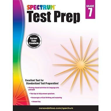 eBook: Spectrum 704869-EB Spectrum Test Prep, Grade 7
