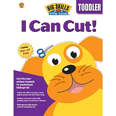 eBook: Brighter Child 0769660169-EB I Can Cut, Grade Toddler