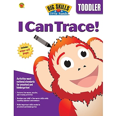 eBook: Brighter Child 0769660185-EB I Can Trace, Grade Toddler