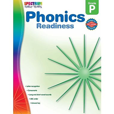eBook: Spectrum 104464-EB Phonics Readiness, Grade PK
