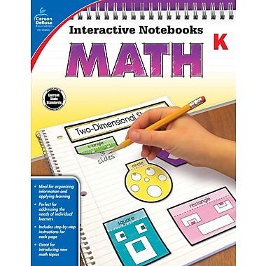 eBook: Carson-Dellosa 104645-EB Math, Grade K