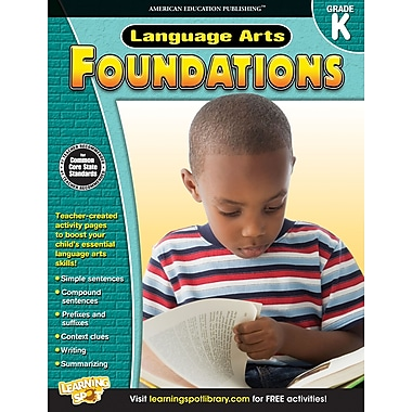 eBook: American Education Publishing 704271-EB Language Arts Foundations